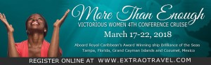 Victorious Women 4th Conference Cruise @ Royal Caribbean Brilliance of The Seas